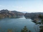 恵那峡とカネコ畳工房.JPG